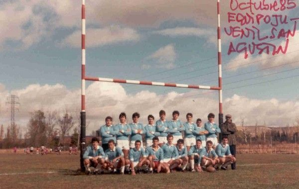 Equipo juvenil rugby